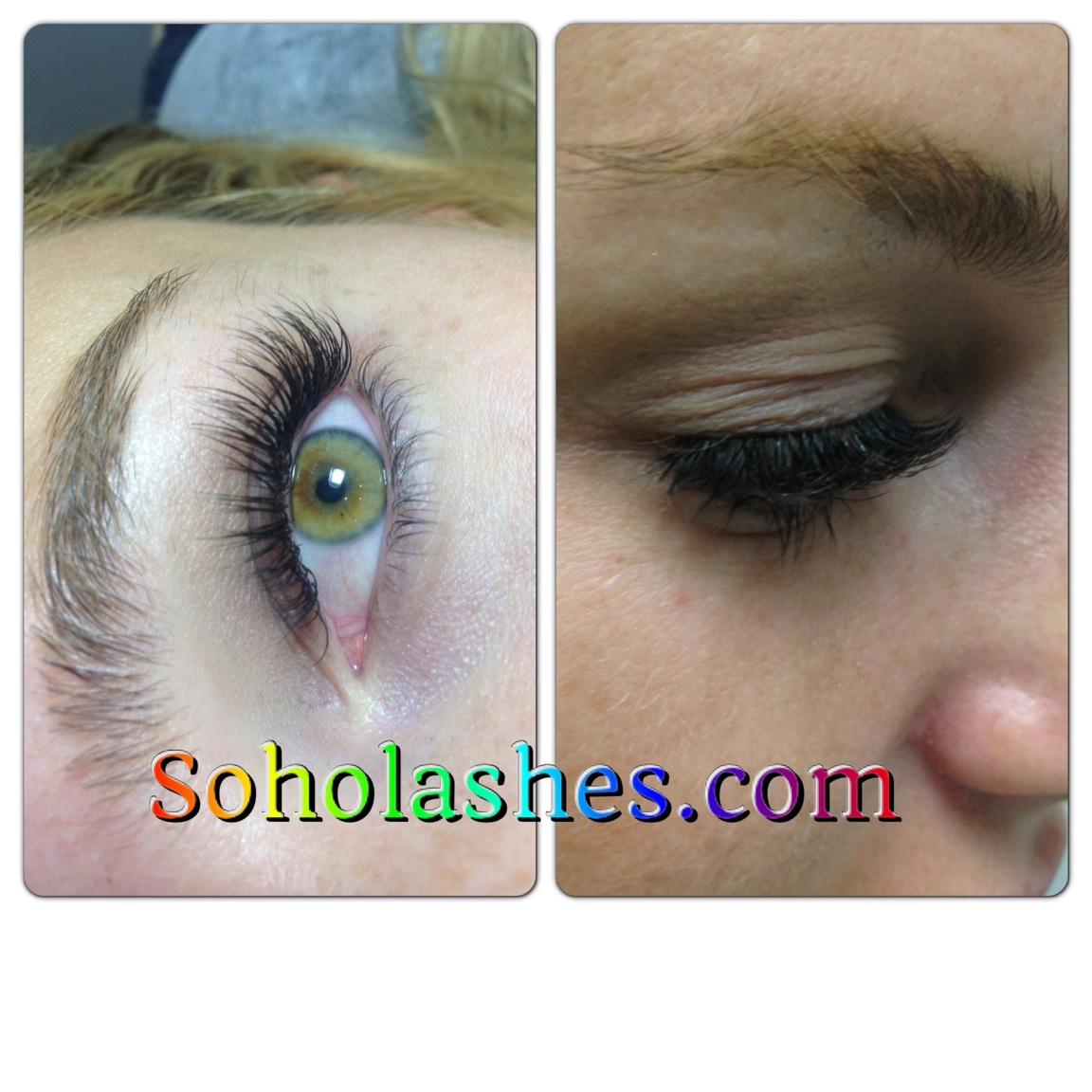 Eyelash Extensions Are Not Clusters! – SOHO Lashes